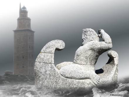 Torre de Hércules. Coruña. Galicia