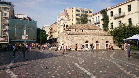 Playas de Atenas, Centro de Atenas y Pireo. Monastiraki