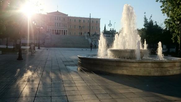 Playas de Atenas, Centro de Atenas y Pireo. Sintagma, Parlamento