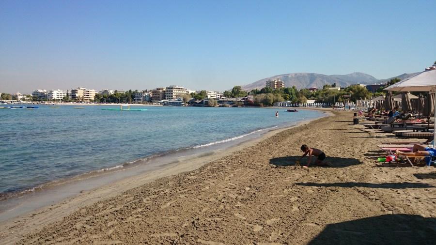 Playas de Atenas, Centro de Atenas y Pireo. Glyfada.