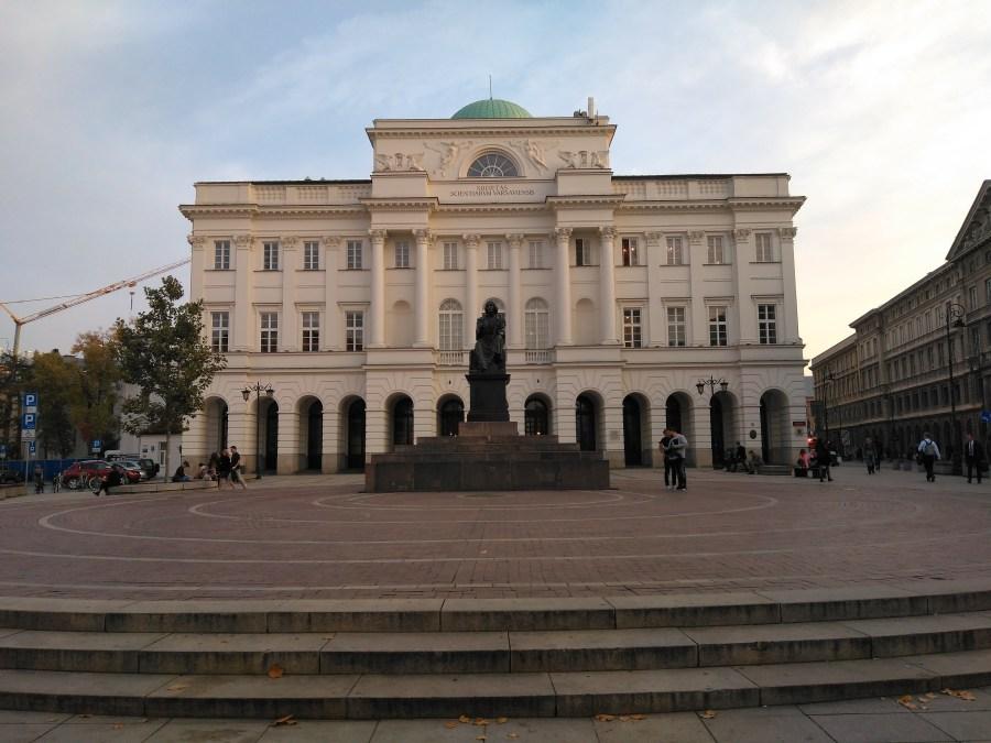 Qué ver en Varsovia.Copérnico