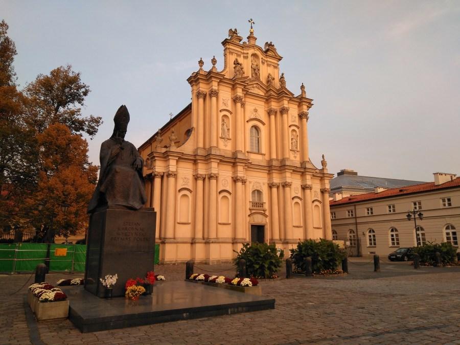 Qué ver en Varsovia en un día. Iglesia Visitacionista. Centro histórico de Varsovia.
