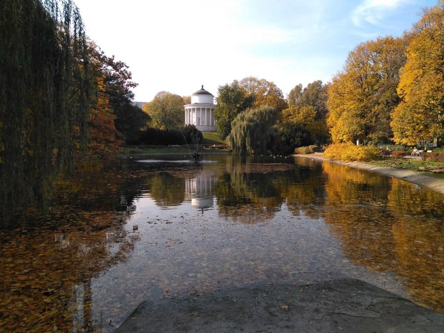 Qué ver en Varsovia. Parque Saski