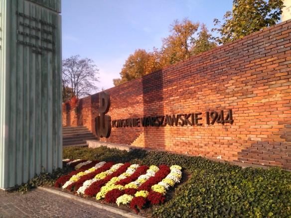 Qué ver en Varsovia en un día. Centro histórico. Monumento al Alzamiento.