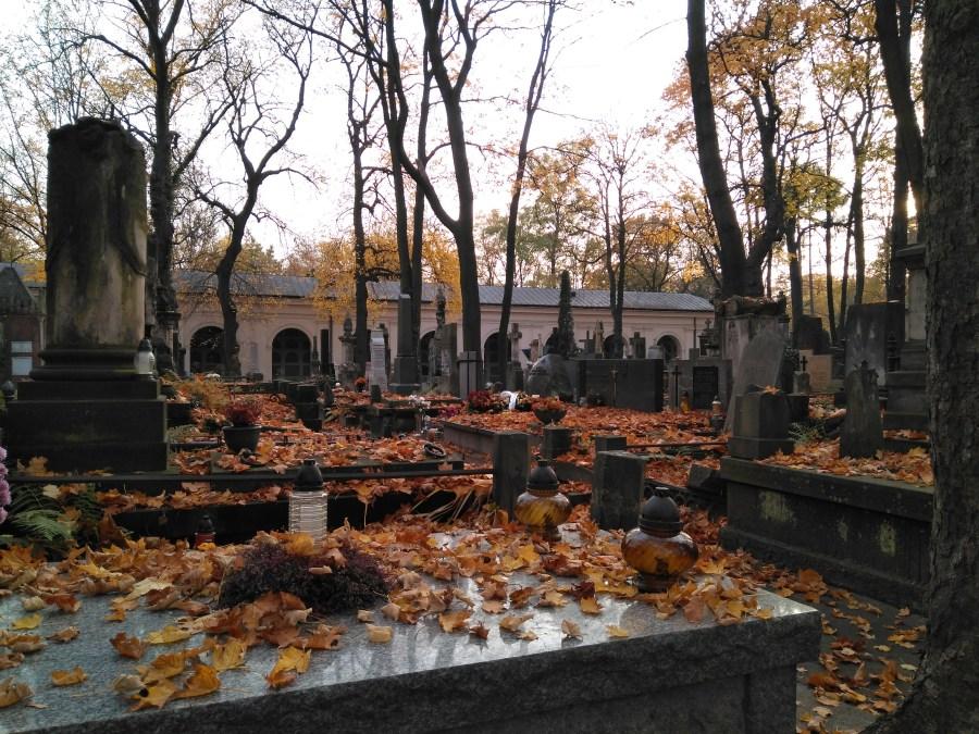 Cementerio Judío Powazki.