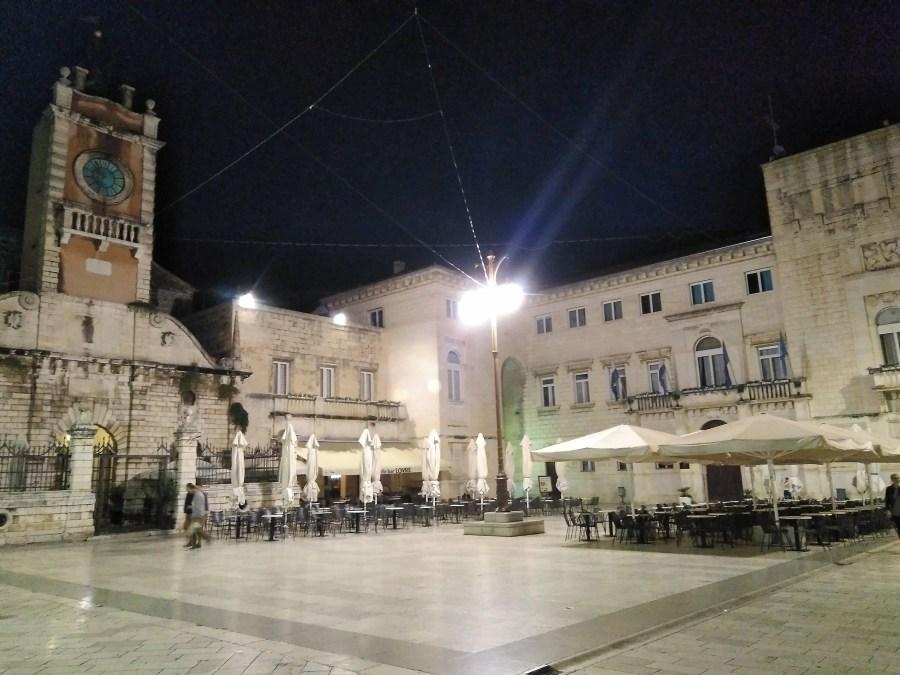 Plaza del Pueblo, Zadar.