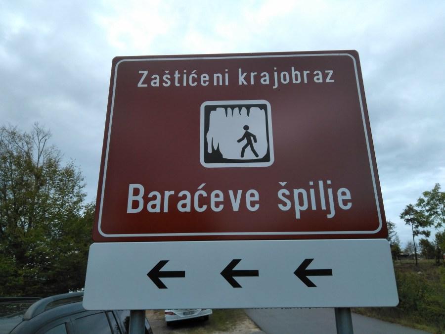 Cuevas de Barac, Rastoke y Petrčane . Cuevas de Baraceve.