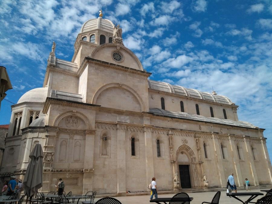 Sibenik y Trogir. Catedral de Santiago de Sibenik. Croacia.
