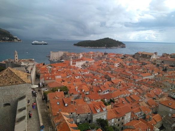 Murallas de Dubrovnik. Juego de Tronos.