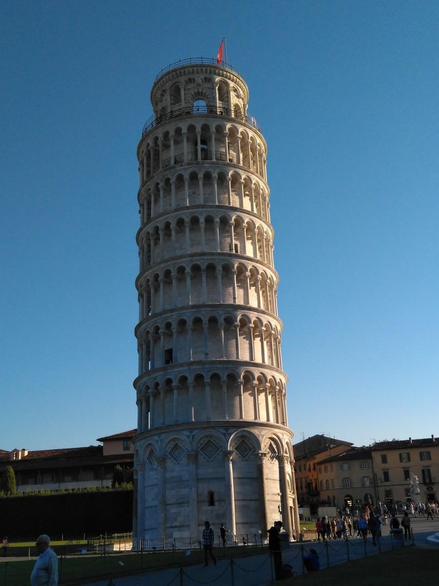 Pisa ¿qué ver en un día? Torre Inclinada de Pisa.