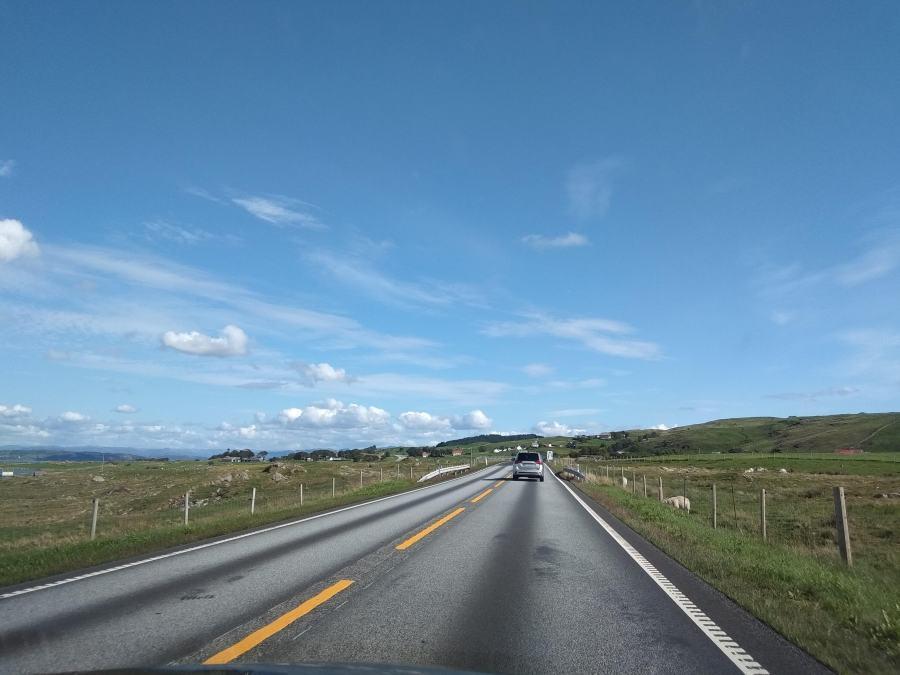 Conducir en Noruega.