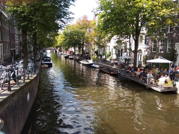 Amsterdam en 3 días. Preciosos canales.