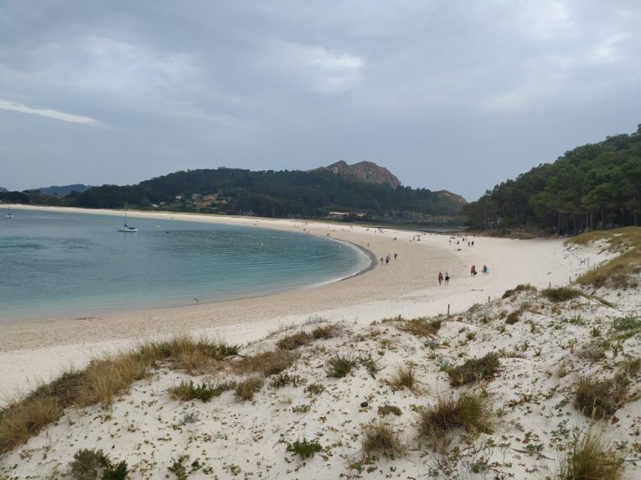 Playas Islas Cíes. Playa de Rodas.