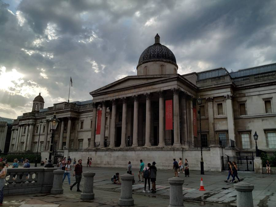 National Gallery. Cosas gratis en Londres.