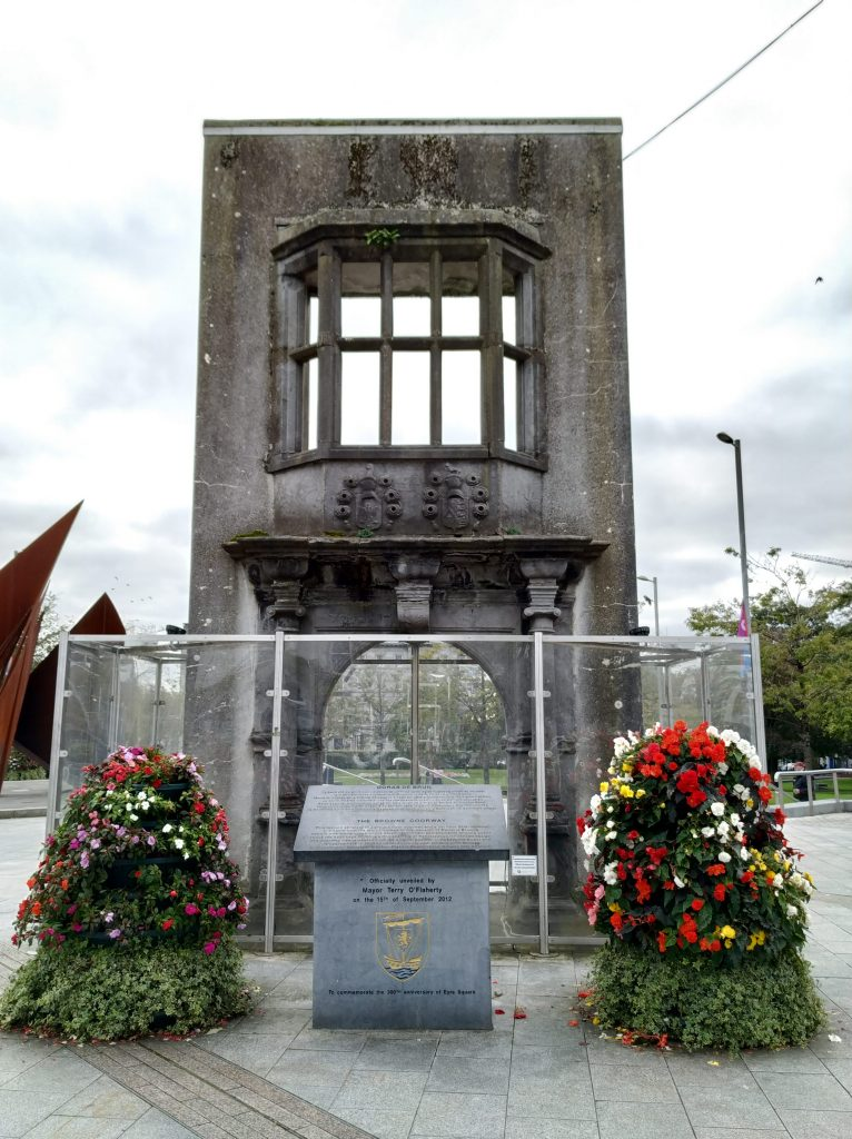 Plaza Eyre. Galway. Irlanda