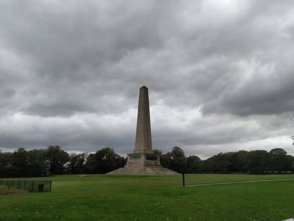 Obelisco monumento a Wellington. Phoenix Park,Dublín, Irlanda.