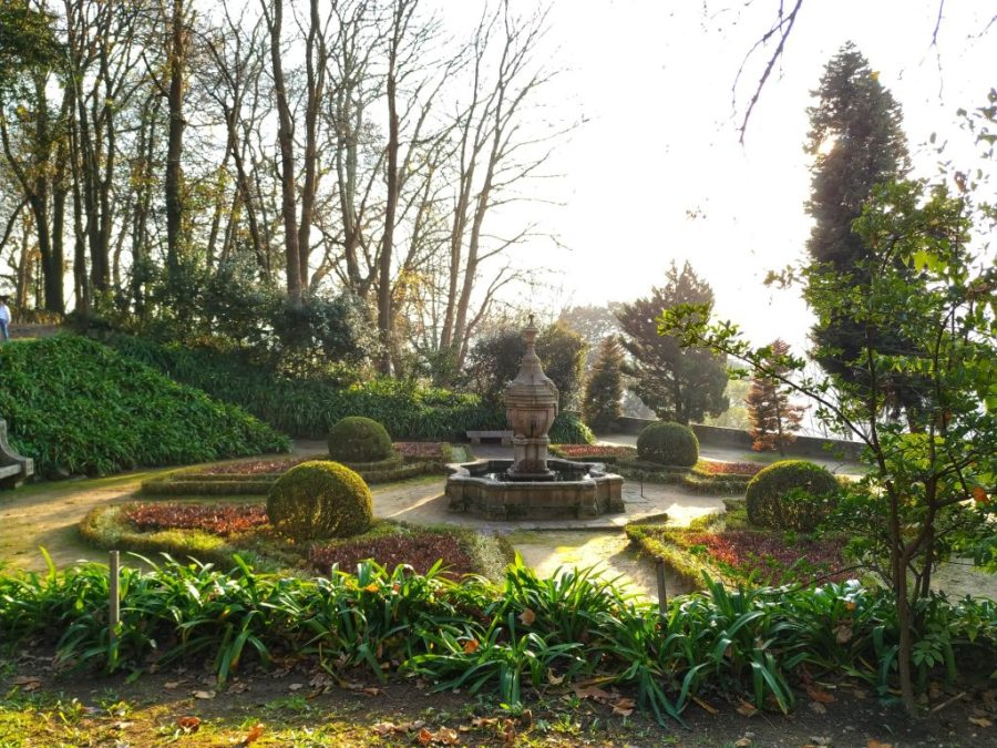 Jardines del Palacio de Cristal.