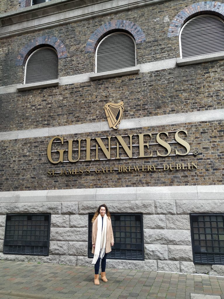 Guiness Storehouse.