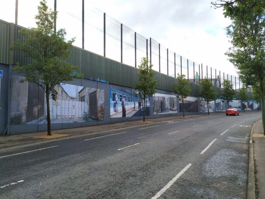 Qué ver en Belfast. Muros de la Paz.