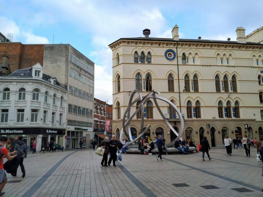 Centro de la ciudad.