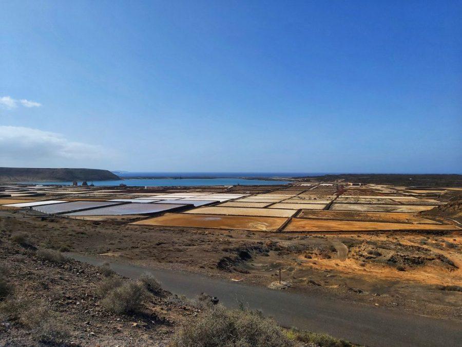 Qué ver en Lanzarote en 3 días. Salinas del Janubio.