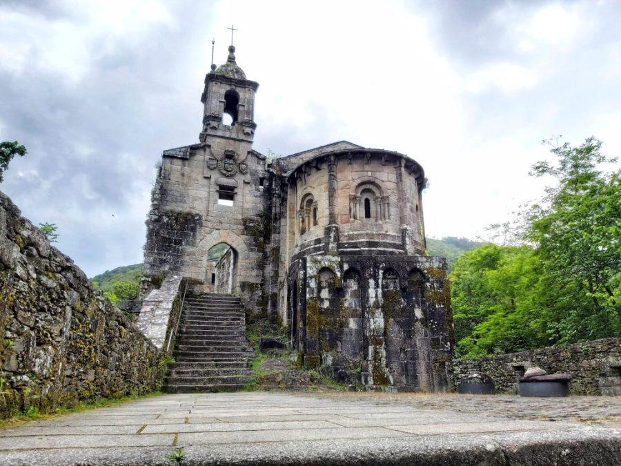 Monasterio de Caaveiro. A Capela.