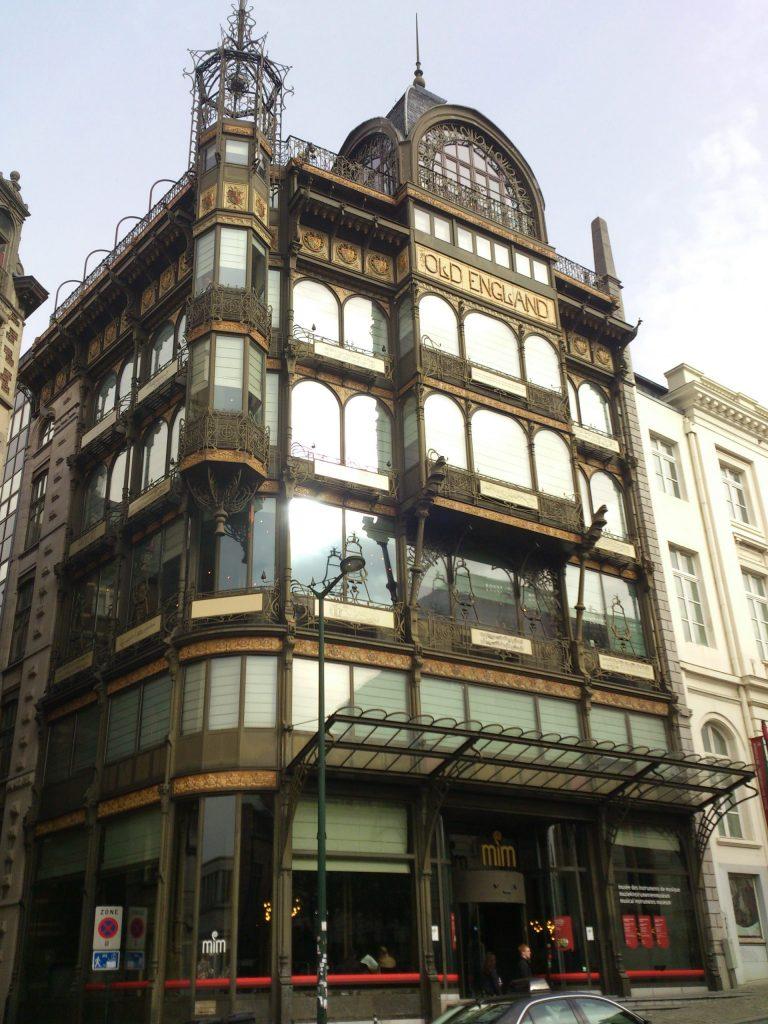Museo de Instrumentos Musicales Bruselas.