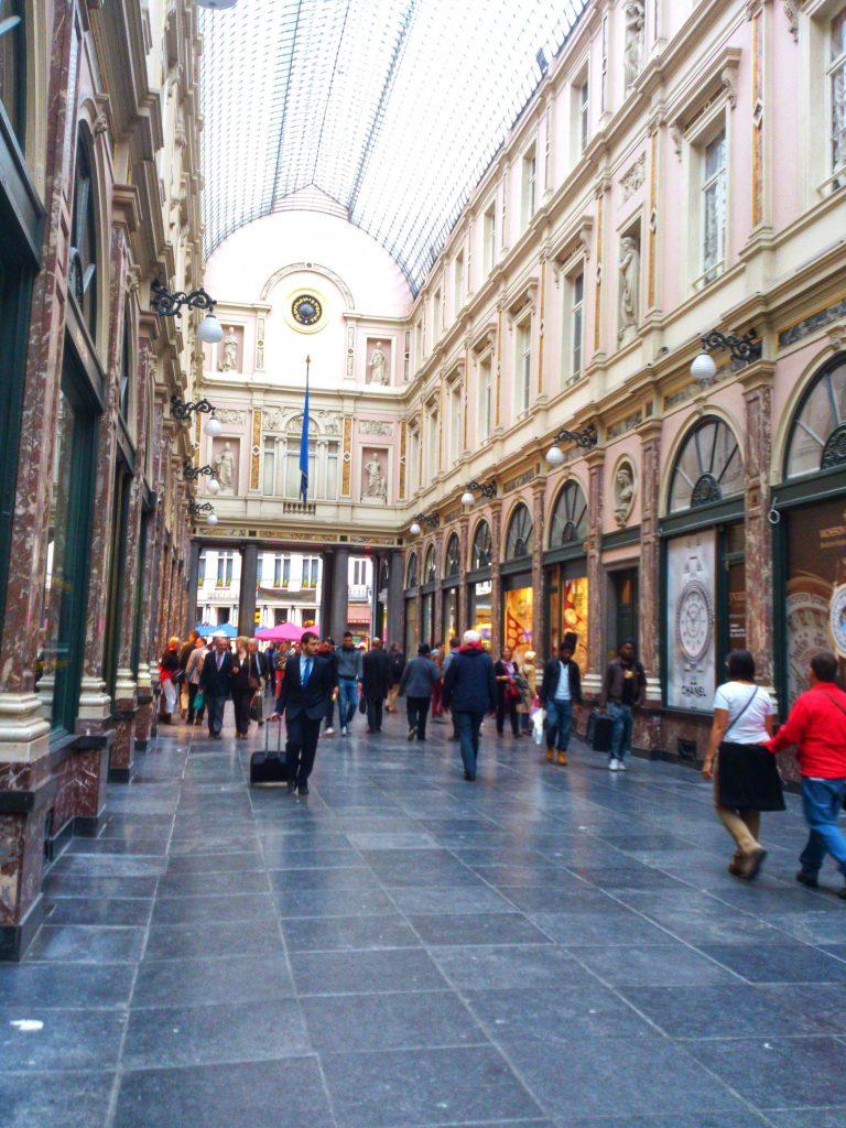 Qué ver en un día en Bruselas. Galerías Saint Hubert.