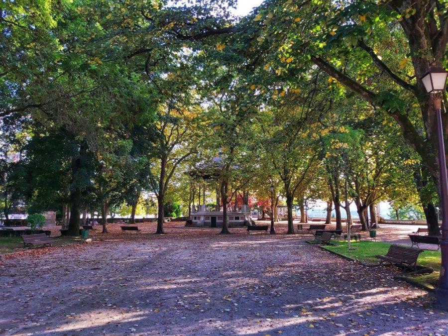 Qué ver en Lugo . Parque de Rosalía.