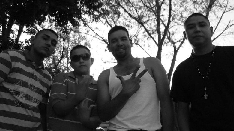 Negro, Chapo, Pitufo y Josecito, en imagen de julio de 2009.