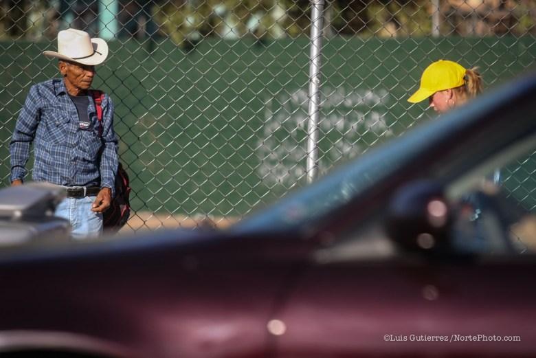 Mirada de un viejo vaquero Sonorense. Tema: Mujer Objeto ** ©Foto:Luis Gutierrez/NortePhoto.com