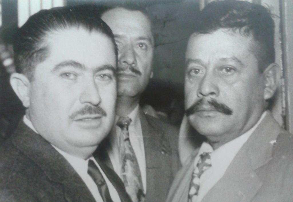 Álvaro Obregón Tapia y Nicolás Zapata Aguilar, ambos hijos de prominentes revolucionarios y ambos herederos de los méritos de sus padres. Obregón Tapia fue gobernador de Sonora (1955-1961) y Nicolás Zapata fue diputado de la primera legislatura del PRI (1946-1949).