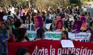 Mujeres en la Marcha Feminista del 08/03/2019