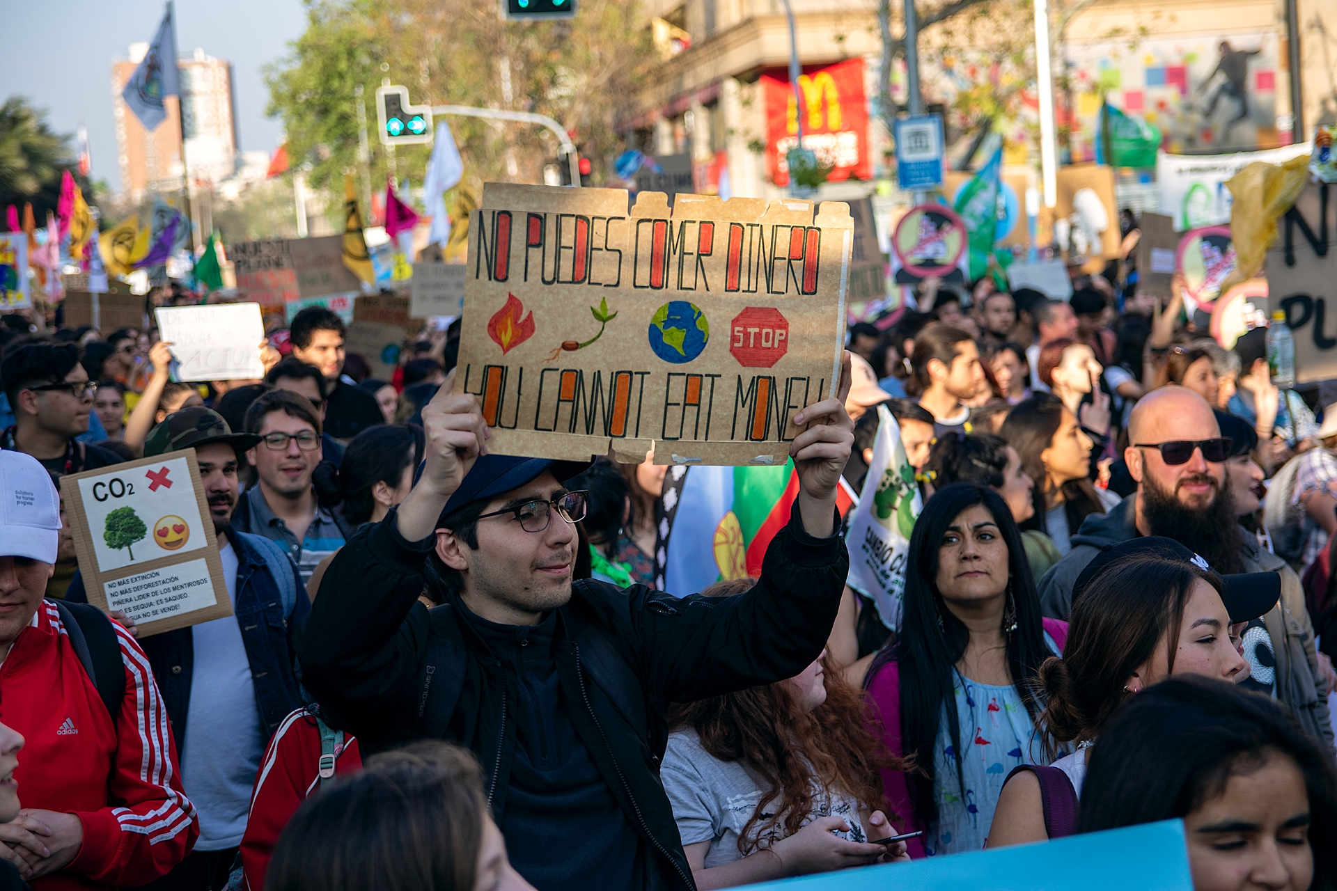 Marcha contra el cambio climático