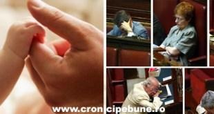 Viaţa unui copil versus nesimţirea unui parlamentar