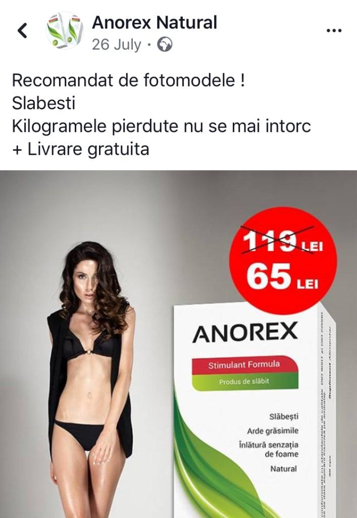 pastile de slabit anorex