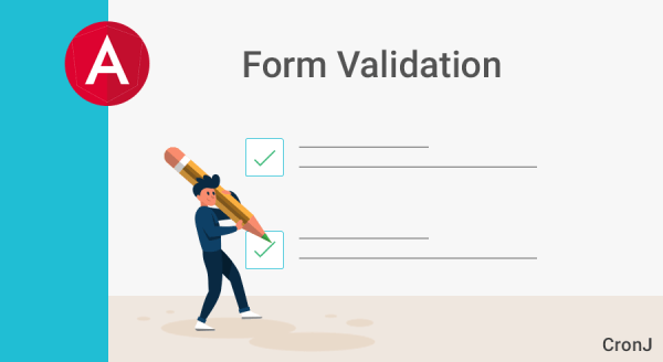 AngularJs Form Validation - CronJ