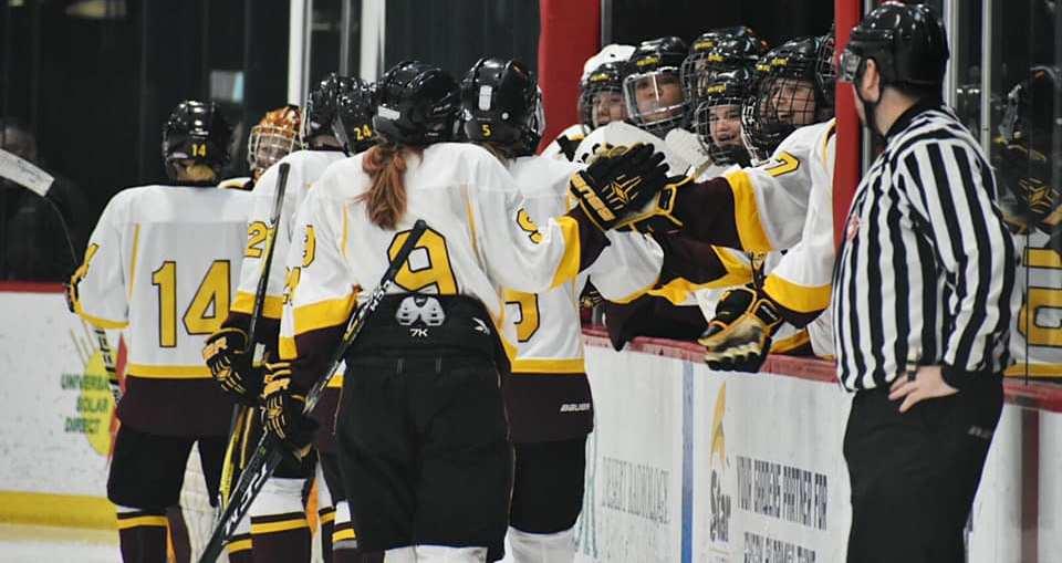Asu Womens Hockey Sun Devils Advance To Semifinal Of Wwchl Playoffs