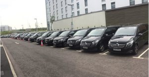 Fleet V Class Mercedes UK Chauffeur Service