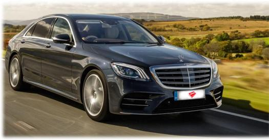 Mercedes S Class AMG S400 Luxury Car Hire