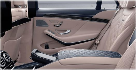 Mercedes S Class AMG S400 interior