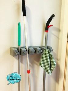 DOKO-IN 5 Position Mop & Broom Holder