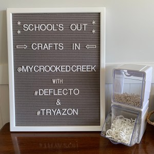 School's Out, Craft's In with Deflecto®