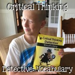 Critical Thinking Detective: Vocabulary
