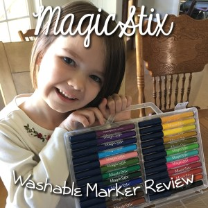 Magic Stix Washable Markers Review