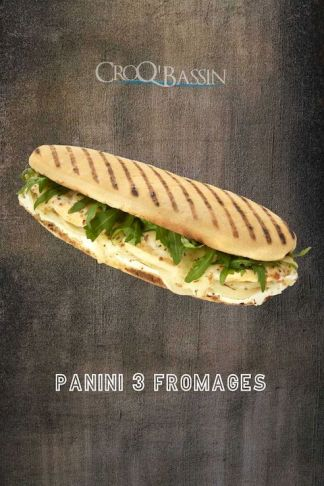 1 panini 3 fromages