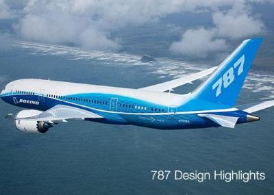 Photo of the Boeing 787