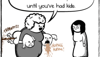 The Oatmeal hates kids.