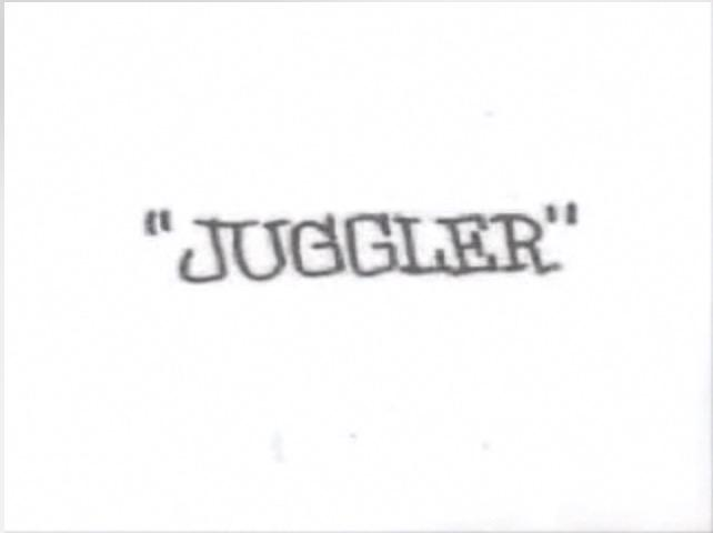 """An animated short film I like to call """"The Juggler"""" because that's its name."""
