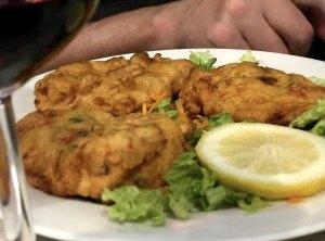 Bacalhau or fried cod